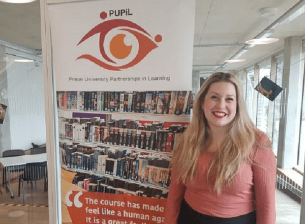 Rosie Reynolds, co-ordinator of the PUPiL network