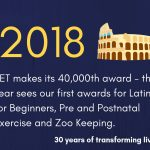 30 years of transforming lives - 2018