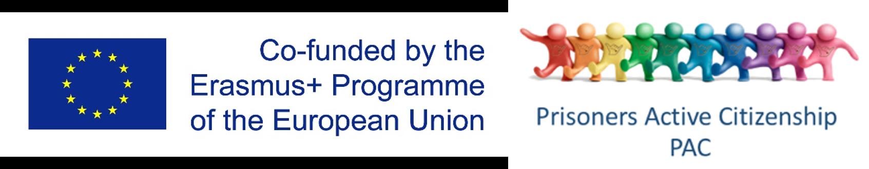 Erasmus+ and PAC logos