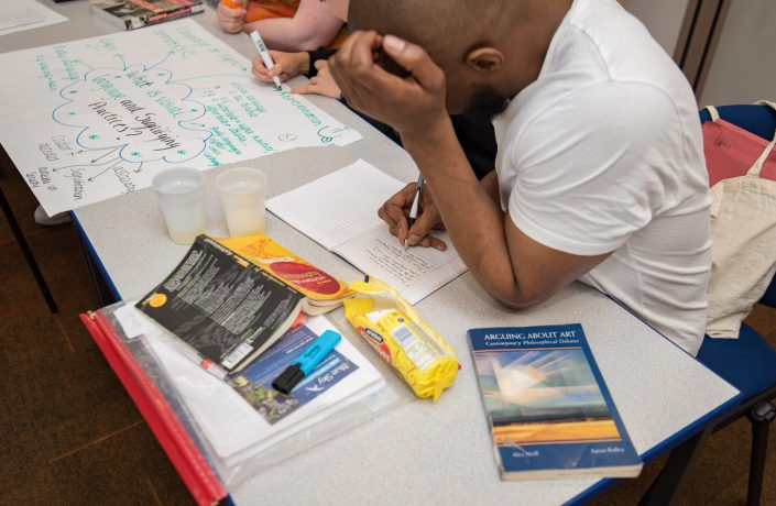 Learners at HMP Isis
