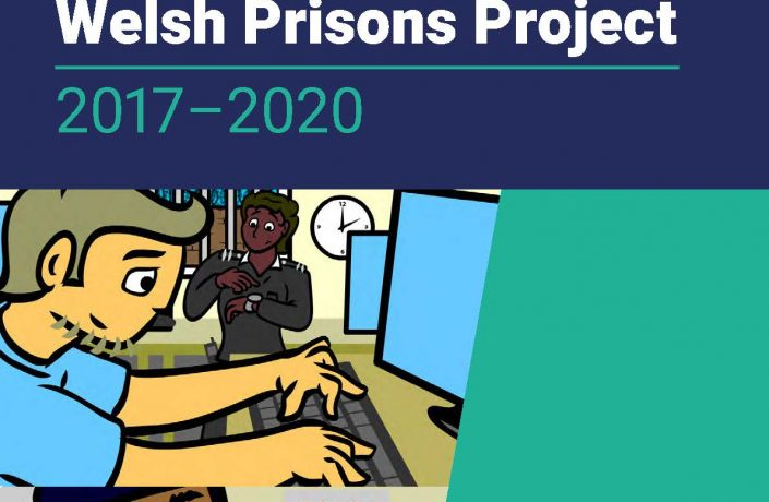 Welsh Prisons Project 2017–2020 report front page