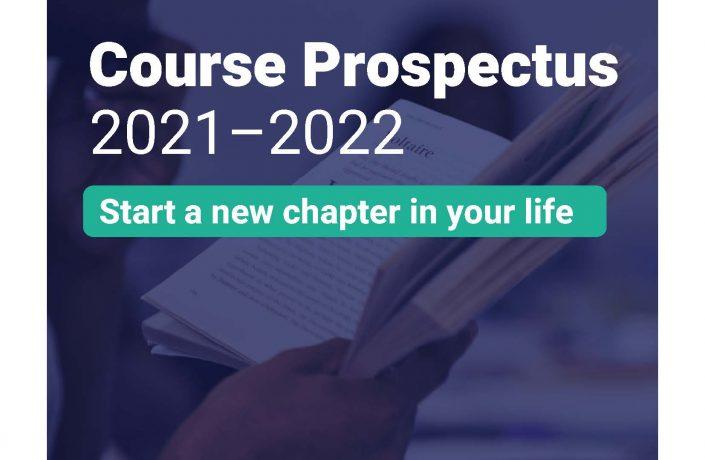 Prisoners' Education Trust - Course Prospectus 2021-2022 - front cover